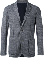 Paolo Pecora textured patch pocket blazer