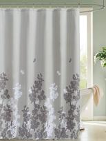 Kensie Ellamay Satin Look Shower Curtain