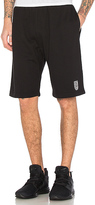 Undefeated Sweatshort in Black. - size M (also in S)