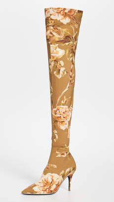 Zimmermann Over The Knee Zip Lycra Boots