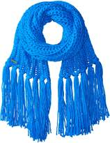 Laundry by Shelli Segal Women's Chunky Gauge Scarf Wtih Fringe