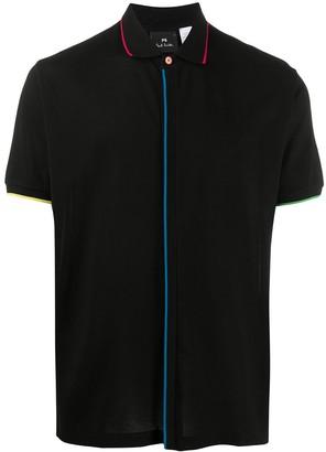 Paul Smith Contrast-Trim Polo Shirt