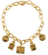 Moschino Charm Collar Necklace