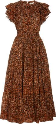 Ulla Johnson Iona Ruffled Cotton Dress
