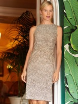 J.Mclaughlin Anne Dress in Micro Animal