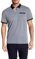 English Laundry Half Moon Short Sleeve Polo
