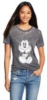 Disney Mickey Graphic T-Shirt Black