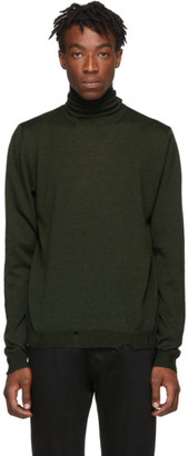 Golden Goose Green Tomio Turtleneck