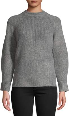 Topshop Ribbed Crew Neck Sweater