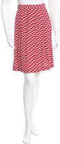 Anna Sui Knee-Length Printed Skirt