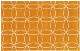 Pantone Universe UNIVERSE Optic Carved Interlocking Circles Wool Rug