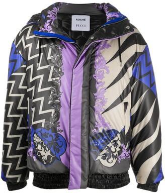 Emilio Pucci x Koche Lupa padded coat