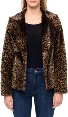 Line Elvira Faux Fur Jacket