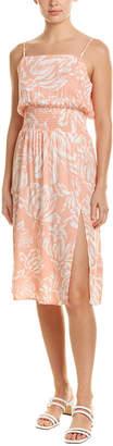 MinkPink Tropical Midi Dress