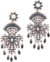 Mercedes Salazar Black Fiesta Earrings