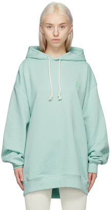 Acne Studios Green Patch Hoodie