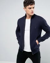 French Connection Knitted Bomber Jacket