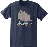JCPenney Novelty T-Shirts Scootin Pusheen the Cat T-Shirt
