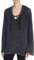 Vintage Havana Baja Lace-Up Sweater