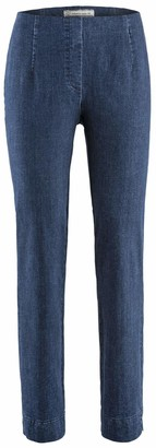 Stehmann INA-760W Indigo Comfortable Jeans with Superstretch Material - Blue - 8