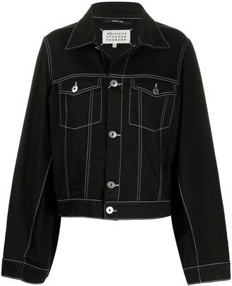 Maison Margiela Boxy-Fit Denim Jacket
