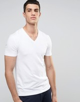 Celio V-Neck T-Shirt in Slim Fit