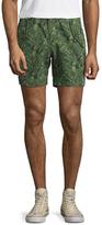 Michael Bastian Bel Air Printed Snap Shorts
