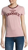 Arizona Less Dramatic Graphic T-Shirt- Juniors