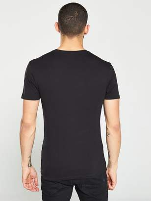 Very Muscle Fit T-Shirt - Black