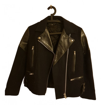Victoria Beckham Black Leather Leather jackets
