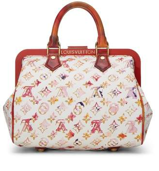 Louis Vuitton Richard Prince x Limited Edition Monogram Watercolor Frame Speedy