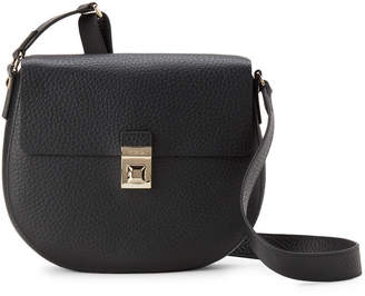 Furla Onyx Glenn Small Leather Crossbody