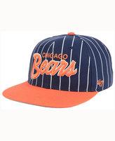 '47 Chicago Bears Pinstripe Script CAPTAIN Cap