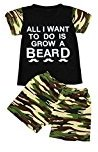 2pcs Clothing Set,Fheaven Toddler Baby Kids Boy T-shirt Top+Camouflage Shorts Outfits (24M, Black)