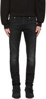 Saint Laurent Black Low Waisted Skinny Jeans