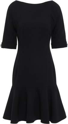 Dolce & Gabbana Crystal-embellished Stretch-wool Crepe Dress
