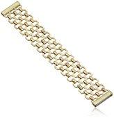 "Kenneth Cole New York Honeycomb"" Pave Geometric Chain Bracelet"