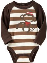 Old Navy Graphic Raglan Bodysuits for Baby