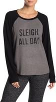Free Press Raglan Hacci Long Sleeve Sweater