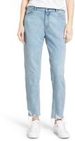 DL1961 Women's Goldie High Waist Crop Taper Leg Jeans