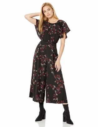 Kensie Women's Rose Noir Jumpsuit