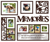 Bed Bath & Beyond Wallverbs™ Memories 6-Piece Frames and Plaques Set