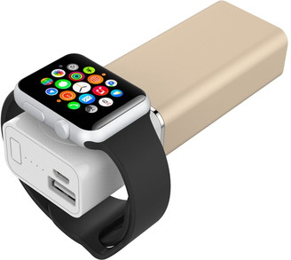 Element Works Gold Apple Watch Power Bank
