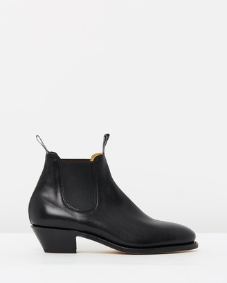 R.M. Williams Womens Adelaide Cuban Heel Boots