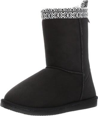Western Chief Women Plush Slipper Boot Winter