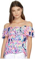 Lilly Pulitzer La Fortuna Top Women's Clothing