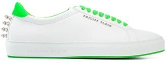 Philipp Plein Studded Logo Plaque Sneakers