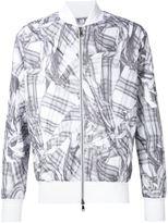 Vivienne Westwood Man tartan print bomber jacket