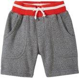 Appaman Riverside Shorts (Baby) - Light Grey Heather - 12-18 Months