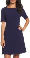 Tahari Petite Women's Crepe Fit & Flare Dress
